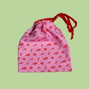 Draw String bag pink scaled