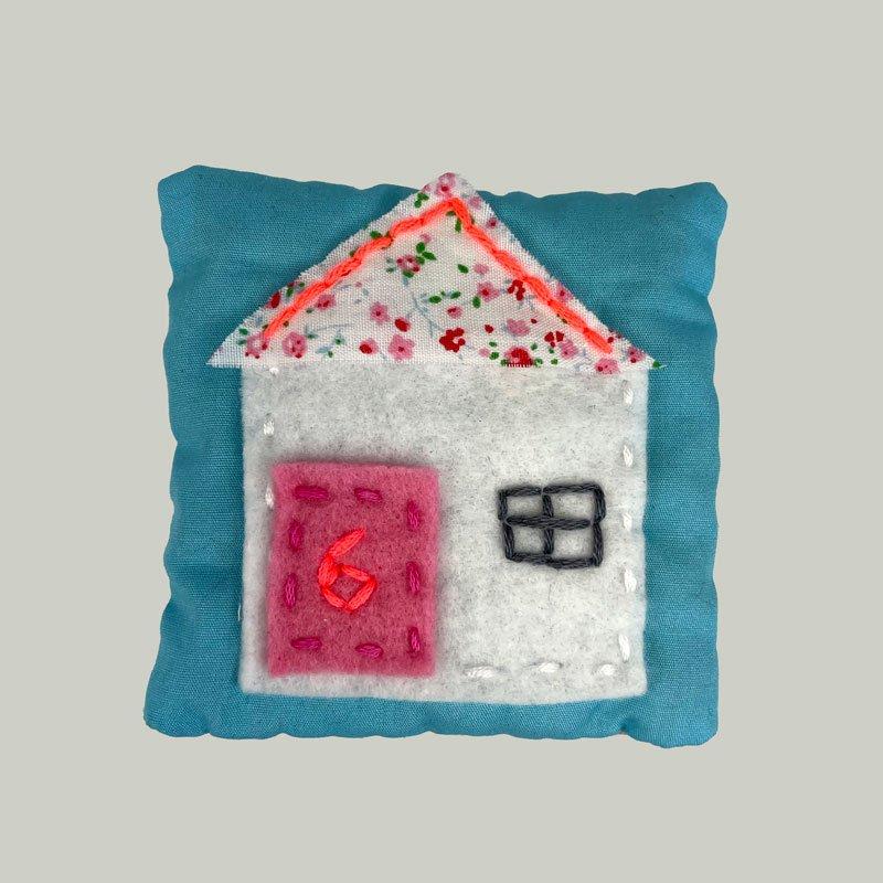 Sew what Lockdown Lavender Pillow