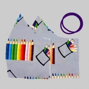 face mask kit crayons