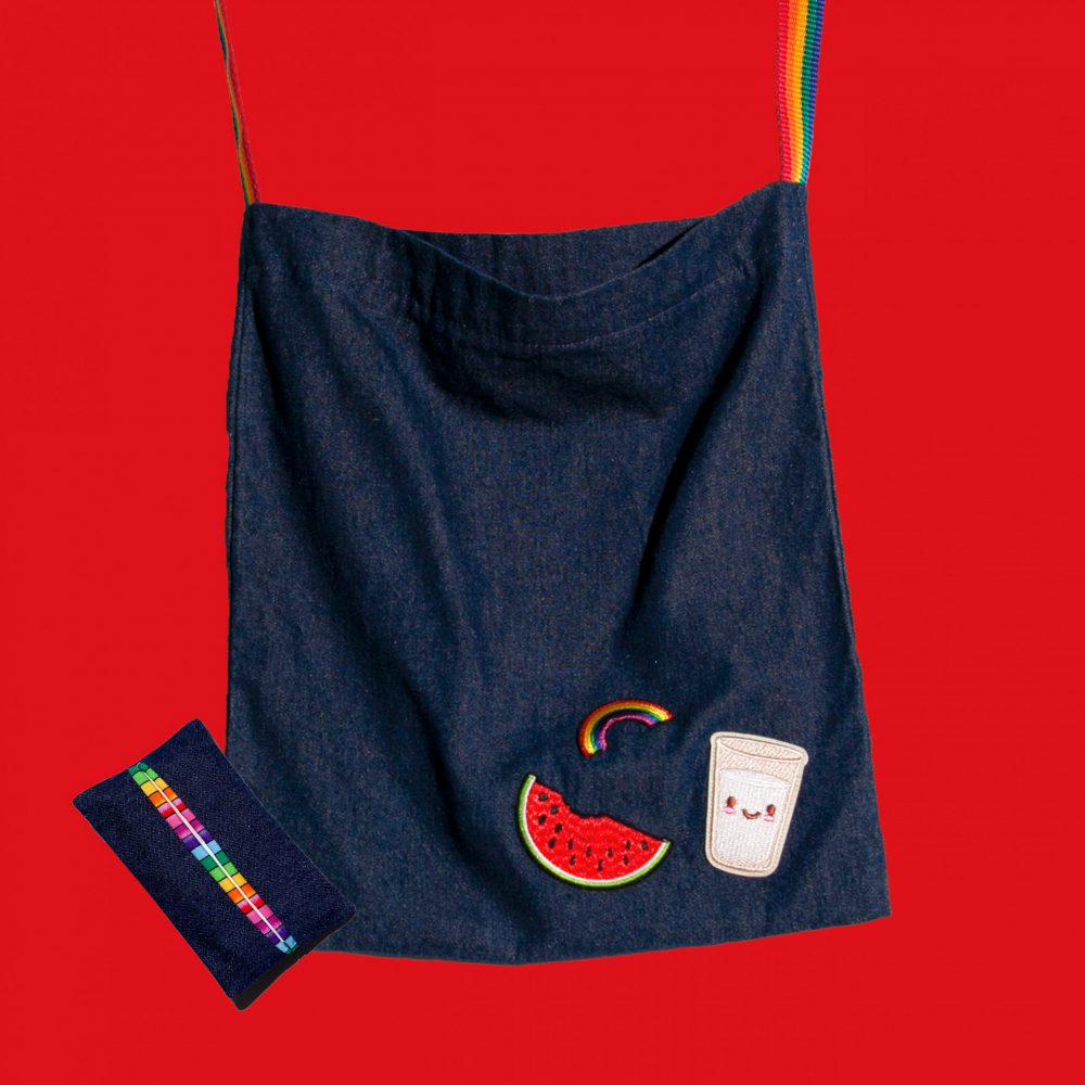 rainbow bag tissue holder scaled