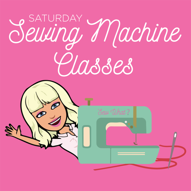 sew what saturday classes