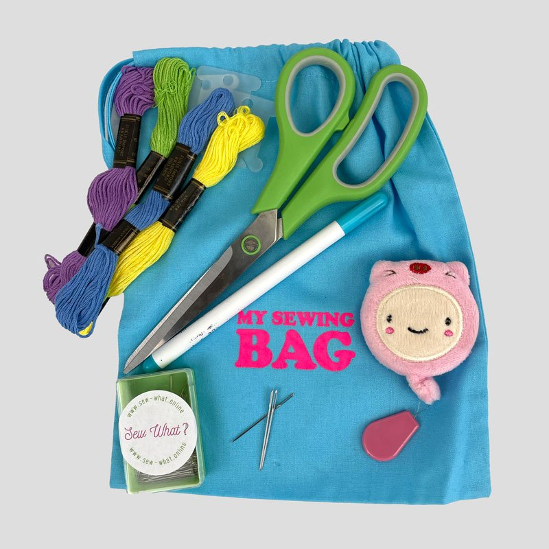 Sew what My Hand Sewing kit bag