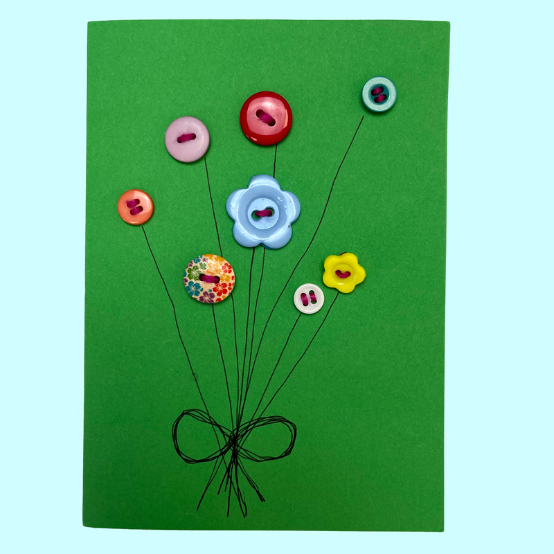 Sew What Button Card