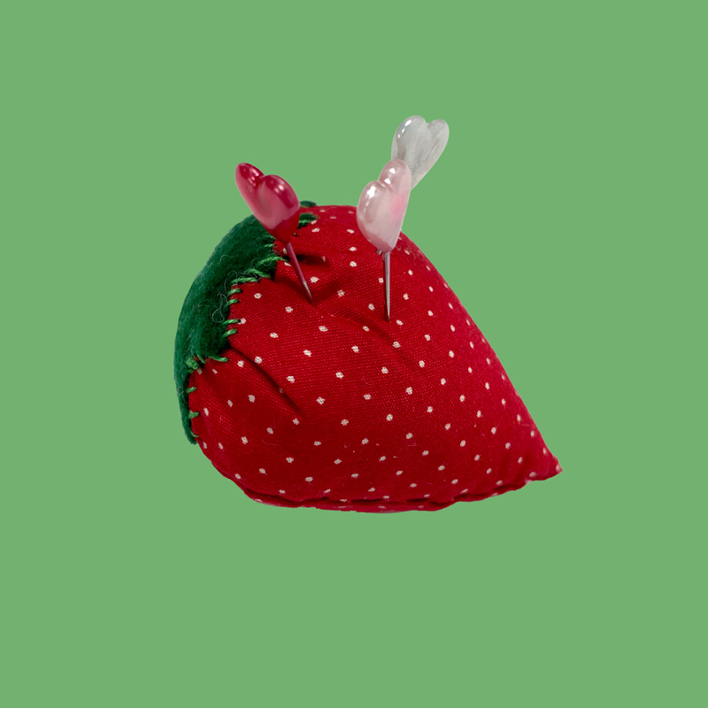 Sew What Strawberry Pin Cushion 4